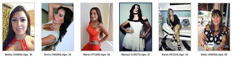 meet beautiful Venezuelan women online